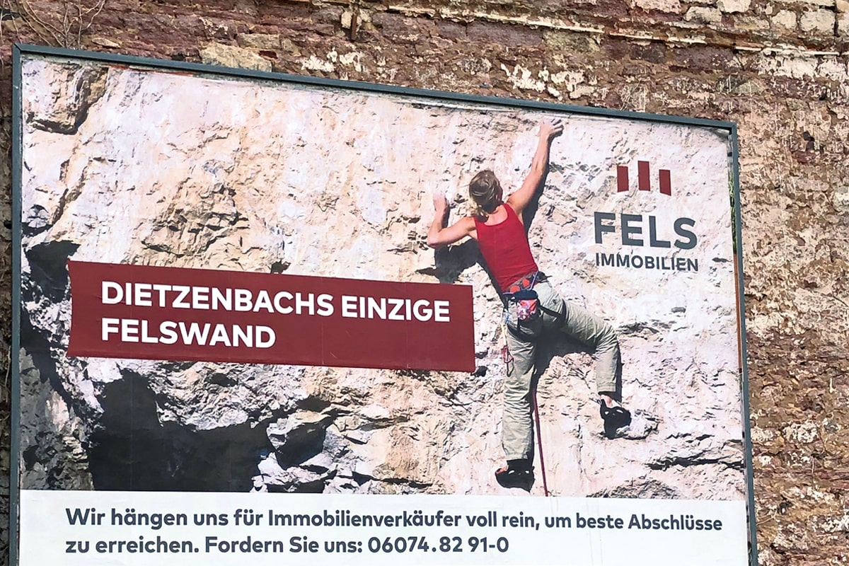 Fels Immobilien Billboard