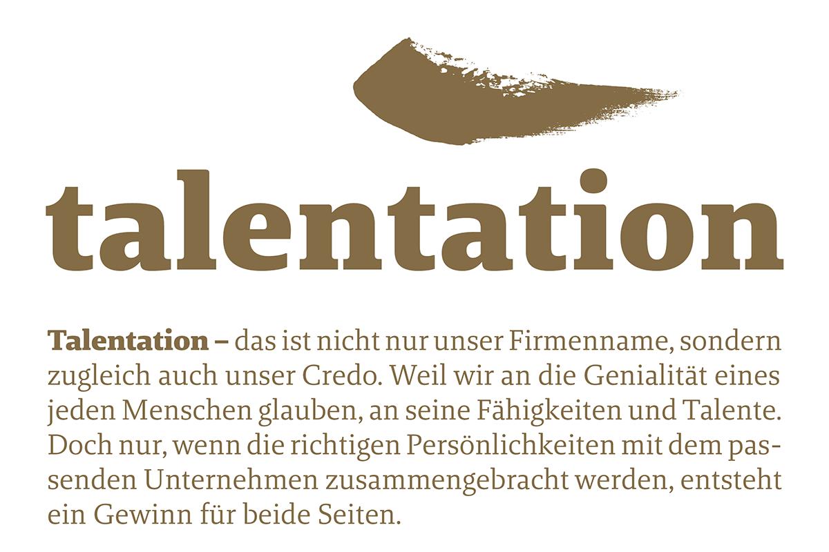 talentation Logo und Beschreibung