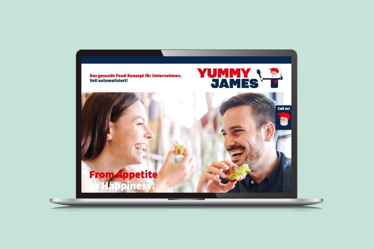 Yummy James Website